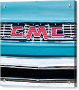1956 Gmc 100 Deluxe Edition Pickup Truck Acrylic Print