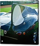 1956 Jaguar D-type Acrylic Print