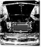 1956 Midnight Black Chevy Acrylic Print