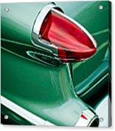 1956 Oldsmobile 98 Taillight Acrylic Print