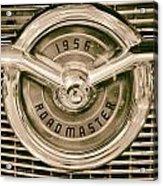1956 Roadmaster Acrylic Print