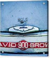 1957 Aston Martin Db2-4 Mark IIi Emblem Acrylic Print