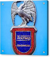 1957 Aston Martin Mk IIi Prototype - Tickford Coachwork Emblem Acrylic Print
