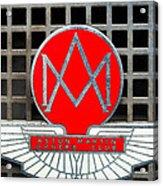 1957 Aston Martin Owner's Club Emblem Acrylic Print