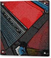 1957 Chevrolet Bel Air Acrylic Print