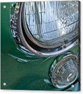1957 Chevrolet Corvette Head Light Acrylic Print