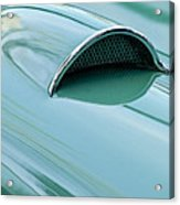 1957 Chevrolet Corvette Scoop 2 Acrylic Print