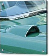 1957 Chevrolet Corvette Scoop Acrylic Print