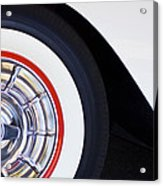 1957 Chevrolet Corvette Wheel Acrylic Print