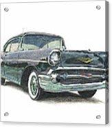 1957 Chevy Acrylic Print