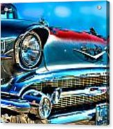 1957 Chevy Grille Acrylic Print