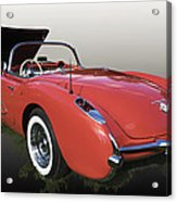 1957 Corvette Fuel Injected Acrylic Print