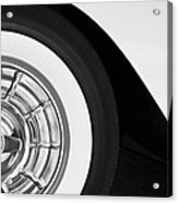 1957 Corvette Wheel Acrylic Print by Jill Reger
