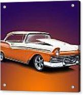 1957 Ford Fairlane 500 Acrylic Print