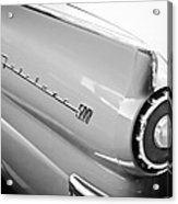 1957 Ford Fairlane 500 Taillight Emblem Acrylic Print
