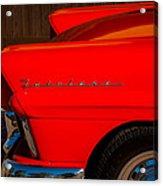 1957 Ford Fairlane Emblem -359c Acrylic Print