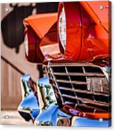1957 Ford Fairlane Grille -205c Acrylic Print