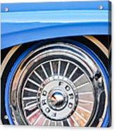 1957 Ford Fairlane Wheel Acrylic Print
