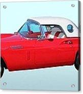 1957 Ford Thunderbird  Acrylic Print