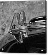 1957 Lincoln Capri Hood Ornament Acrylic Print