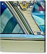 1957 Mercury Monterey Sedan Emblem Acrylic Print