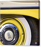1957 Pontiac Starchief Wheel Cover Acrylic Print