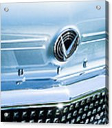1958 Buick Roadmaster 75 Convertible Grille Emblem Acrylic Print