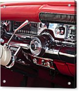 1958 Buick Special Dashboard Acrylic Print