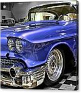 1958 Cadillac Deville Acrylic Print