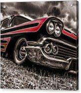 1958 Chev Biscayne Acrylic Print by motography aka Phil Clark
