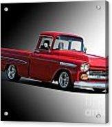 1958 Chevrolet Apache Pick Up Truck Acrylic Print