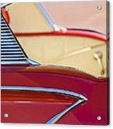 1958 Chevrolet Belair Abstract Acrylic Print