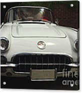 1958 Chevrolet Corvette Acrylic Print