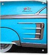 1958 Chevrolet Impala Acrylic Print