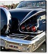 1958 Chevy Impala Rear Quater Acrylic Print