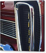 1958 Edsel Pacer Grille 2 Acrylic Print