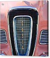1958 Edsel Pacer Grille Emblem Acrylic Print