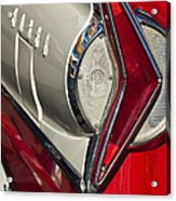 1958 Edsel Wagon Tail Light Acrylic Print