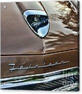 1958 Ford Fairlane 500 Skyliner Acrylic Print