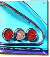 1958 Impala Palm Springs Acrylic Print
