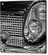 1958 Lincoln Continental Headlight Acrylic Print