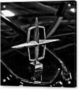 1958 Lincoln Continental Hood Ornament Acrylic Print