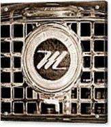 1958 Nash Metropolitan Grille Emblem Acrylic Print