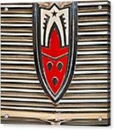 1958 Oldsmobile Super 88 4 Door Sedan -1654c Acrylic Print