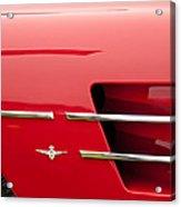 1958 Pegaso Z-103 Touring Berlinetta Side Emblem -1195c Acrylic Print