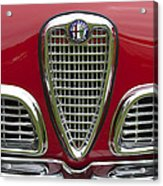 1959 Alfa Romeo Giulietta Sprint Grille Acrylic Print by Jill Reger