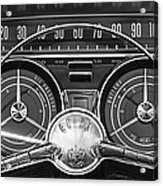 1959 Buick Lasabre Steering Wheel Acrylic Print