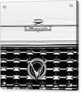 1959 Buick Lesabre Convertible Grille Emblems Acrylic Print
