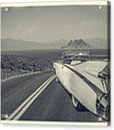 1959 Cadillac Eldorado Convertible Ambrotype Acrylic Print