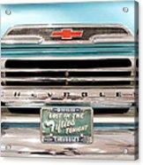 1959 Chevrolet Apache 012315 Acrylic Print